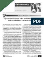 RAMOS ANGELES, Jesús - Causalidad indirecta del gasto - Caballero Bustamante, Thomson Reuters - Num 765 2da quincena Agosto 2013.pdf