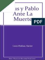 Jesus y San Pablo ante la muerte.pdf