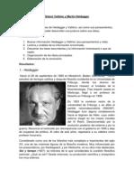 Gianni Vattimo y Martin Heidegger