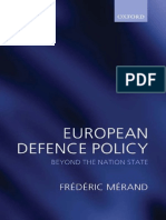 European Defence Policy Beyond