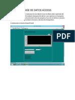 Base de Datos en Access