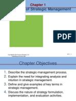 Nature of Strategic -Ch 1