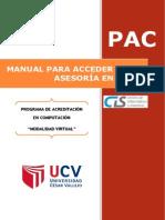Manual Para Acceder a Una Asesoria en Linea-cis Ucv