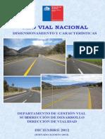 Dimensionamiento y Caracteristicas Red Vial Nacional 2012