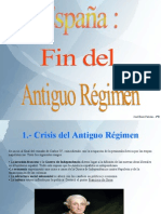 Joel Baez Falcón España-Fin Del Antiguo Régimen (UD 5).odp