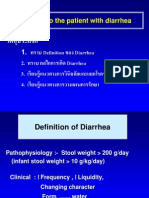 Lecture Diarrhea and Constipation