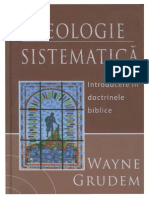 Wayne Grudem - Teologie Sistematica