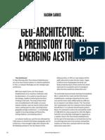 Geo-Architecture