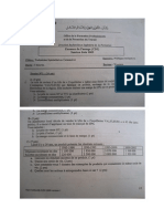 Examen de Passage 2009 Pratique Variante 1 TSC