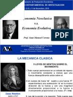 Economia Neoclasica vs Economia Evolutiva