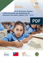 Programa de Dotación de Uniformes, Zapatos y Útiles Escolares para Estudiantes de Educación Parvularia y Educación Básica de Centros Educativos Públicos