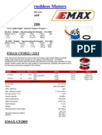 E MAX - E Max Brushless Motor Specs EE July 08