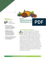 Vitaminas y Minerales Nutricion