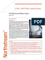 LTE and the 1800 Mhz Opportunity