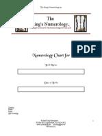 Chart Numerology