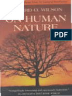 On Human Nature by E.O. Wilson