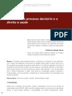 As facetas do processo decisório e o direito à saúde