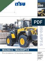 Komatsu WA250 5