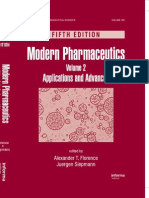 Modern Pharmaceutics, Fifth Edition, Volume 2 Applications and Advances.pdf