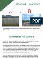 Patumahoe Hill Presentation March 2014