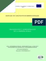 Organizacion y Administracion de La Empresa Rural