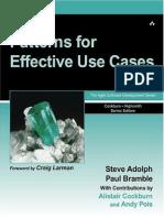 UML - Patterns for Effective Use Cases.pdf
