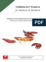 Produktuebersicht Cuenin
