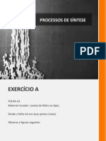 UT - PROCESSOS DE SÍNTESE