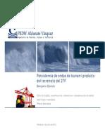 Persistencia de Ondas de Tsunami Producto Del Terremoto Del 27F