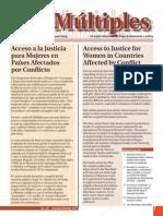 Multiples 20 Acceso a La Justicia Para Mujeres en Paises Afectados Por Conflicto