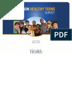 2013 Oregon Healthy Teens Data