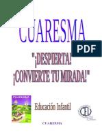 Coresma 2014. E. Infantil
