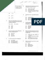 Cape Chemistry Unit 1 Paper 1 - 2010