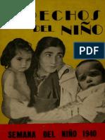 Los Derechos del Niño. 1940