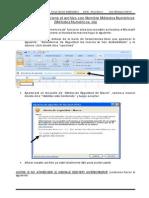 Instrucciones de habilitación para el archivo de Métodos Numericos_Excel