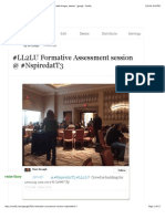 #LL2LU Formative Assessment session @ #NspiredatT3 (with images, tweets) · jgough · Storify