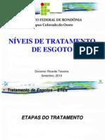 Ifro - Esgoto Niveis de Tratamento