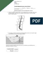 Evaluación diagnostica de ciencias naturales para octavos básicos - copia