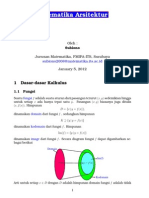 Matematika Arsitektur