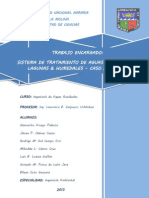 Diseño  PTAR - Laguna - Humedal