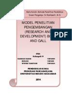 MAKALAH MODEL PENGEMBANGAN BORG & GALL1.doc