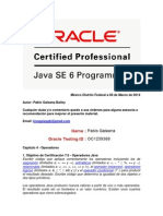 Oracle Certified Professional Java SE 6 Programmer 4