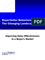 AST-0060828 Improving Sales Effectiveness in a Buyers Market