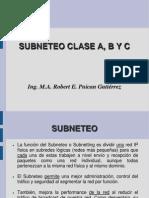 Clases de Redes - Subneteo