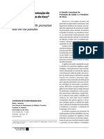 Ayres, J.R.d.C.M. - Epidemiologia, Promocao Da Saude e o Paradoxo Do Risco