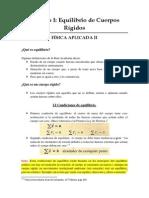 Módulo I Equilibrio de Cuerpos Rígidos (2007)