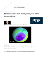 New Ozone Depleting Substances