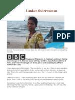 My Day Sri Lankan Fisherwoman