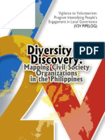 Diversity and Discovery Mapping CSOs in the Philippines