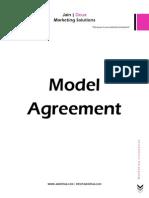 jain deux model agreement